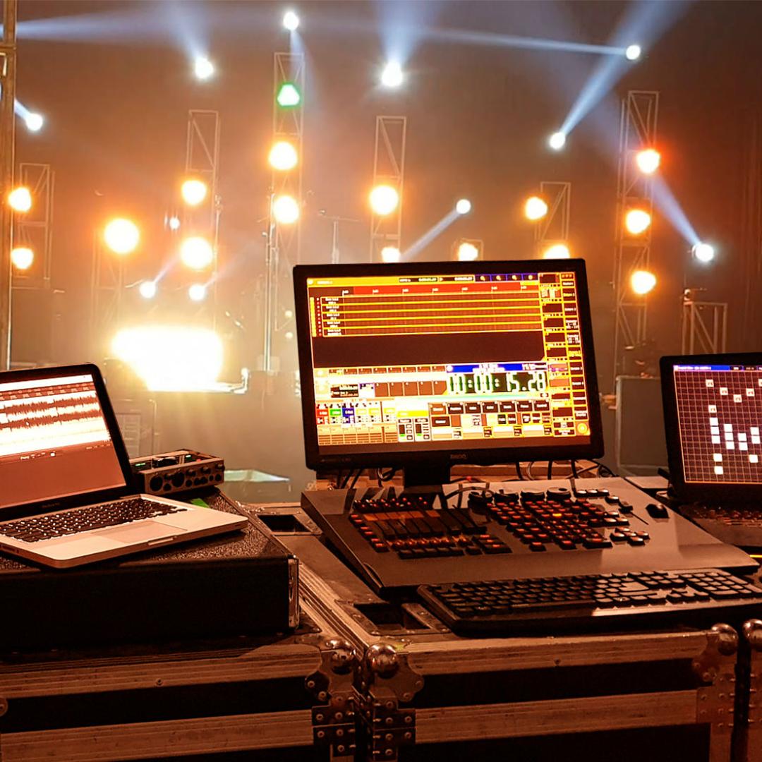 Timecode Lighting