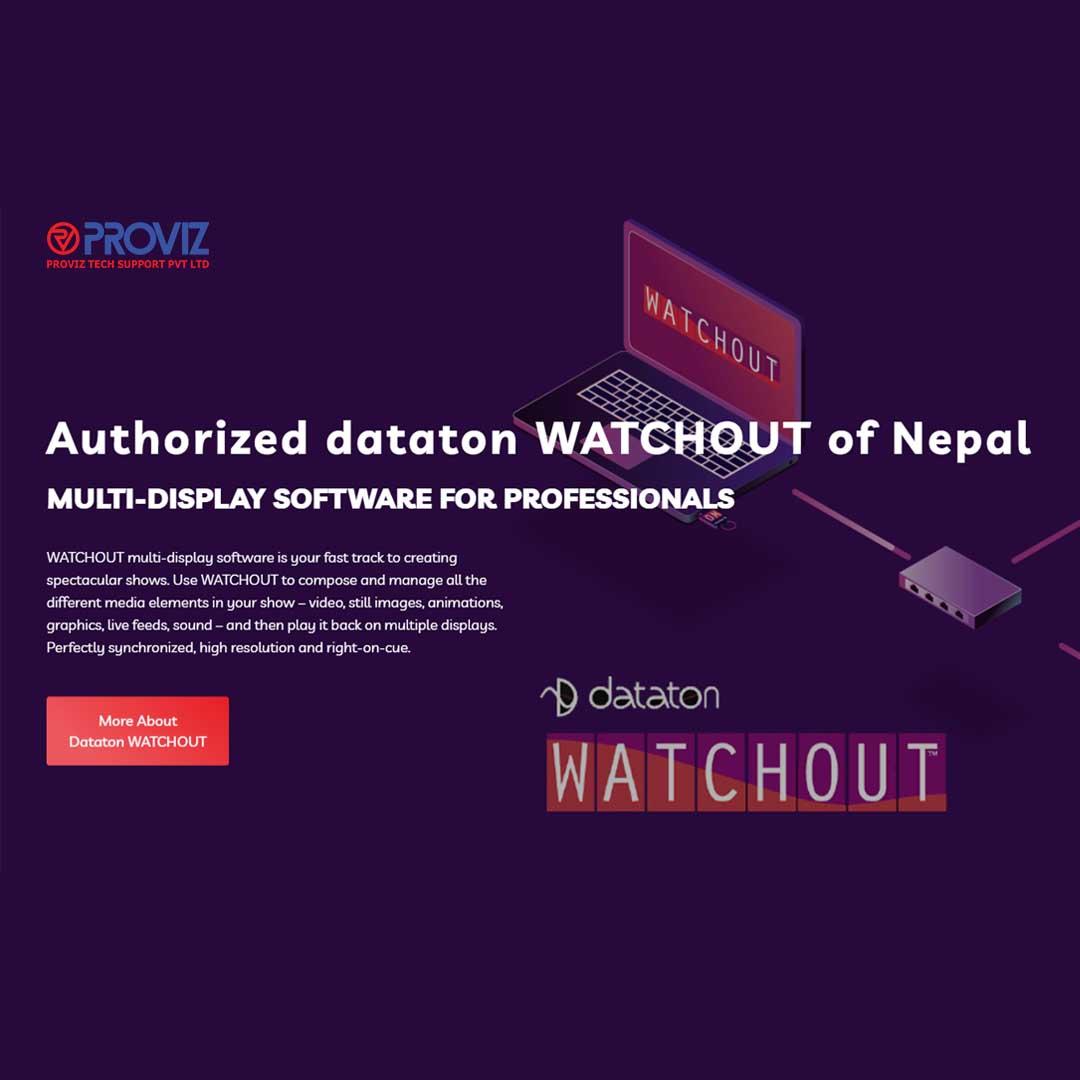 Authorized dataton WATCHOUT for Nepal